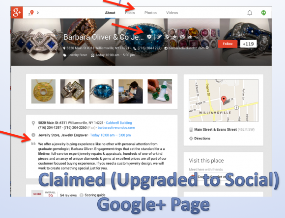 What Kind of Google+ Page Is It? - A Visual Guide to Google+ Local Pages - Local University