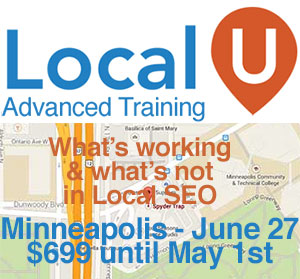 Local U Advanced Training