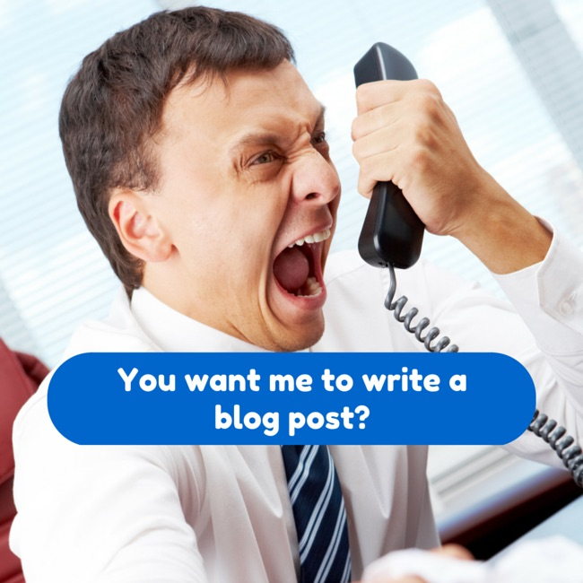 You want me to write a blog post