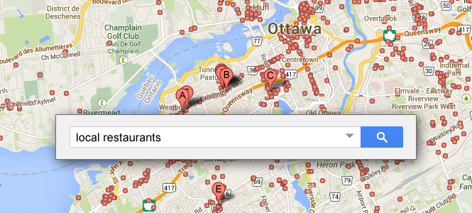 local search restaurants image