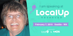 Mary Bowling-im speaking at localup