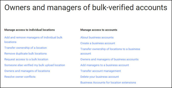 GMBL account management
