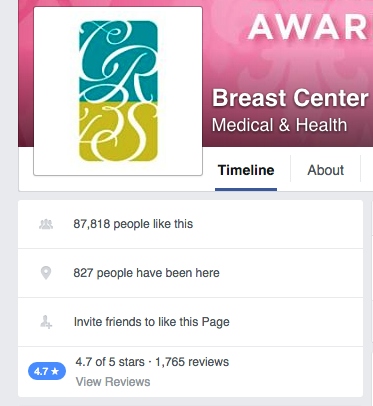 Center for Restorative Breast Surgery Facebook Reviews