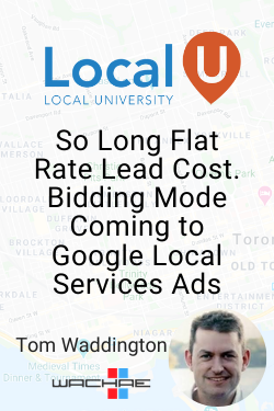 Tom Waddington Local Services Ads